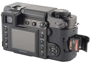Panasonic Camera back
