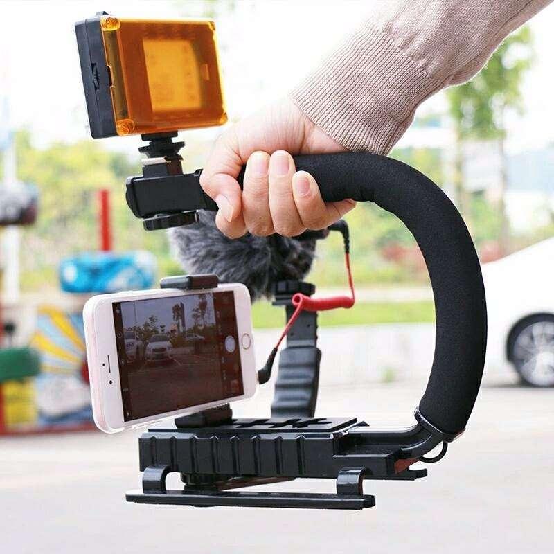 Tr pode monopie palo de selfie y estabilizadores mundo for Estabilizador de camara